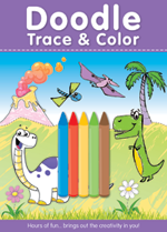 Doodle Trace & Color with Crayons
