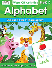 Alphabet Wipe-Off Activities