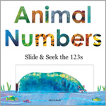 Animal Numbers: Slide and Seek the 123s