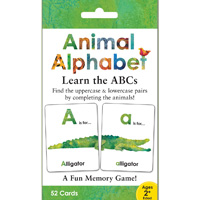 Animal Alphabet Memory Game