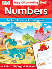 Numbers Wipe-Off Activities
